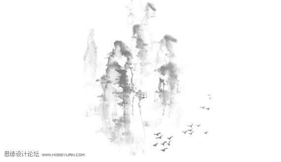 古风手绘图片莲花