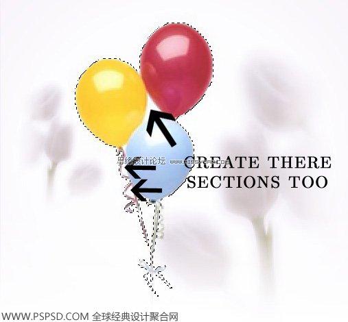 单个气球卡通图片